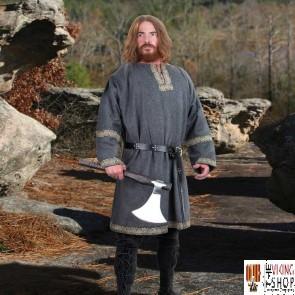 Woollen Viking Tunic - Grey