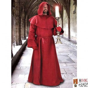Monk's Robe - Red