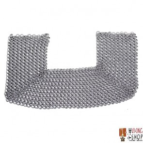 Chainmail Standard - Dome Riveted - Flat Ring / Solid Ring