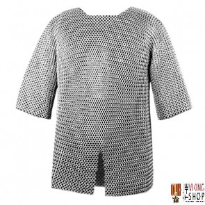 """Chainmail Haubergeon - Butted - 64"""" Chest"""