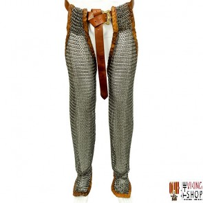 Chainmail Chausses (Leggings) - Butted