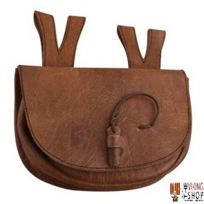 Medieval Leather Bag Small