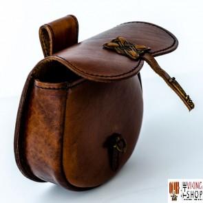Celtic Leather Belt Pouch (Bag)