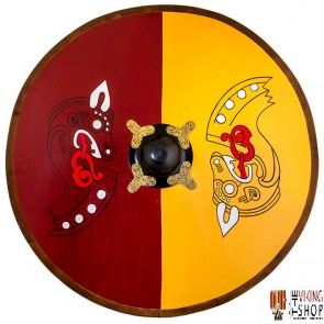 Viking Wooden Shield - Painted