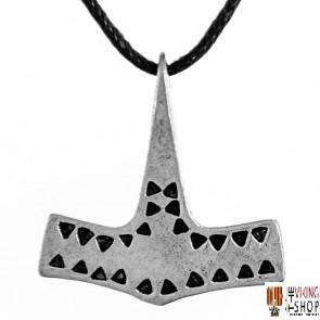 Viking Danish Hammered Hammer Pendant