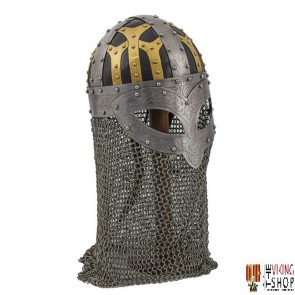 CLEARANCE - Viking Spangenhelm with Aventail
