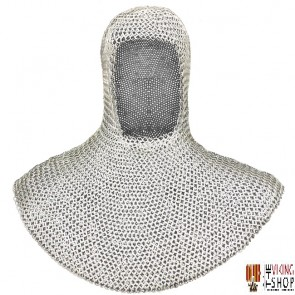 Chainmail Coif - Dome Riveted